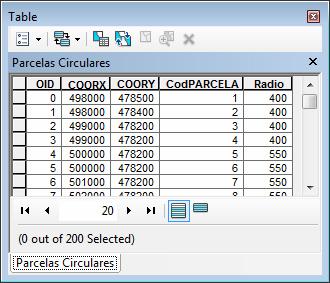 introducir una malla de puntos al ArcGIS